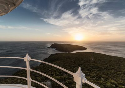 Cape-Bruny-Lighthouse-Sunset-view
